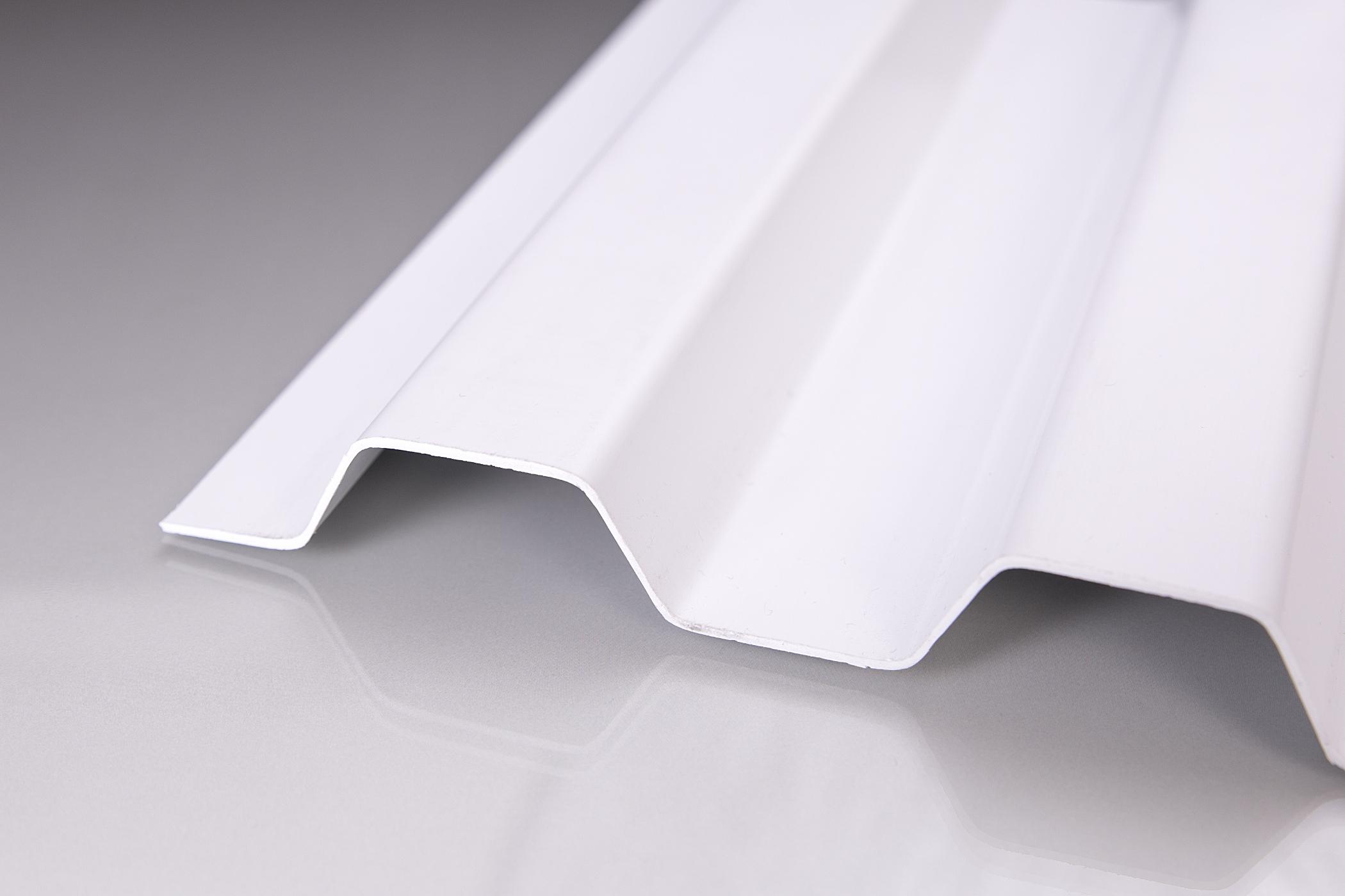 sollux trapezplatten 70 18 wei opak extrem belastbar. Black Bedroom Furniture Sets. Home Design Ideas